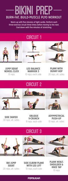 Circuit Workout with Plyometrics