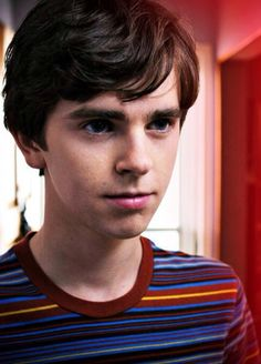 Freddie Highmore -- this kid plays very interesting roles. Also he's just adorable.