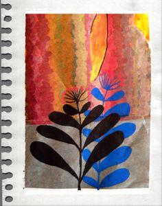 Paradis silencieux: 30-365: Dans ma forêt de papier, il y a des êtres mystérieux qui s'entrecroisent et s'évite...ballet d'ombres silencieux...