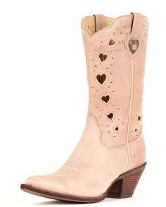 "Durango Women's 11"" Crush Heartfelt Boots - Light Taupe"