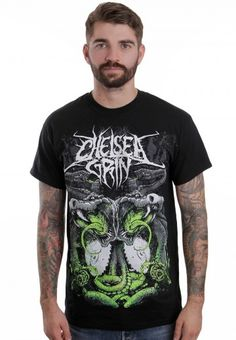 Chelsea Grin - Snakes - T-Shirt - Official Deathcore Merchandise Online Shop - Impericon.com Worldwide