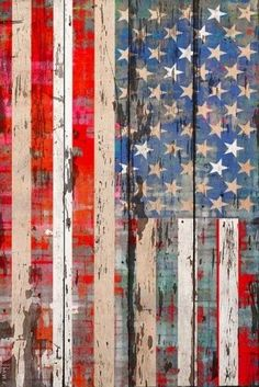 Old Glory Painted On Barn Boards Patriotic Decorations, Patriotic Party, Patriotic Crafts, July Crafts, Flag Painting, Let Freedom Ring, Home Of The Brave, Old Glory, God Bless America