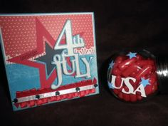 This weeks challenge over at Fantabulous Cricut is to create a project for the of July and incorporate a star. Scrapbook Pages, Scrapbooking, Basic Shapes, Independence Day, 4th Of July, Cricut, Challenges, Create, Card Ideas