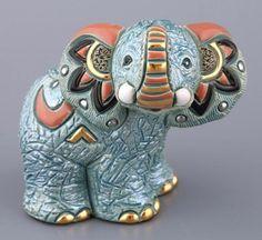 Декоративная фигурка «Слоник» из коллекции De Rosa Rinconada. Размер: высота 8 см. Материал: керамика.