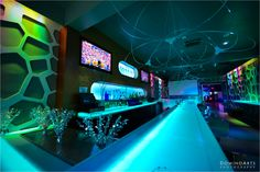 Jared Hartley's Bar #Mitzvah! With #NoWhere #Lounge's brilliant #color changing #walls, #projection #screens, and #stereo sound system, this #party was definitely hopping! #DJ #Classik and his #dance group kept the music spinning for fourstraight hours. Bar #Mitzvah #Party #Decoration picture by #DominoArts #Photography (www.DominoArts.com)