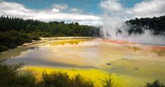 Be stunned by the colourful mineral lakes in Rotorua   Discover the stunning Emerald Lakes of the Tongariro Crossing   Hiking NZ
