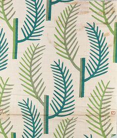 Textile by the Wiener Werkstätte, 1910–28, Cotton.