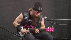 Watch As Zakk Wylde Crushes Black Sabbath's 'N.I.B.' On A Hello Kitty Guitar!
