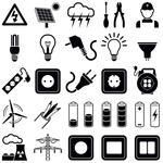 Find Electricity Icon Collection Vector Silhouette Illustration stock images in HD and millions of other royalty-free stock photos, illustrations and vectors in the Shutterstock collection. Thousands of new, high-quality pictures added every day. Web Design, Icon Design, Car Symbols, Electrician Services, Home Addition Plans, Window Repair, Gifts For Photographers, Square Photos, Icon Collection