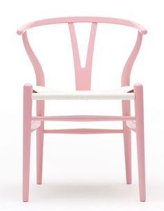 Hans J. Wegner's iconic Wishbone chair gets a makeover for Breast Cancer Awareness Month