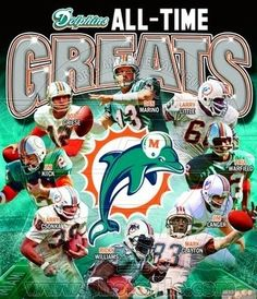 Miami Dolphins All-Time Greats