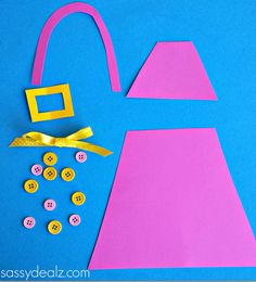 Mother's Day Purse Card for Kids to Make - Sassy Dealz