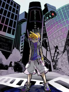 Neku Sakuraba from Kingdom Hearts 3-D and The World Ends with You