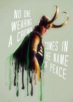 Where there are crowns there is no peace