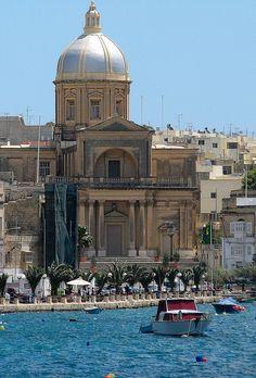 St Joseph's church in Kalkara, Malta. Malta Direct will help you plan your trip – www.maltadirect.com