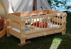 @Leslie Hegman- this is the Knockdown Toddler bed I was talking about at TMD... the page is in Norwegian, but the picture gives you a pretty good idea what's going on.