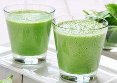 """Have you ever been drinking your green smoothie and someone says to you, """"How do you drink that stuff?!"""" Well that happened to me the other day and I replied with, """"Because it tastes like a Peanut Butter & Jelly in a glass!"""" The smoothie was bright green, packed with kale, and all I could taste was the small scoopof peanut butter, the handfulof frozen berries and the sweet banana. It had me thinking, some people aren't aware that just because it's green doesn't mean it tastes like pond ..."""