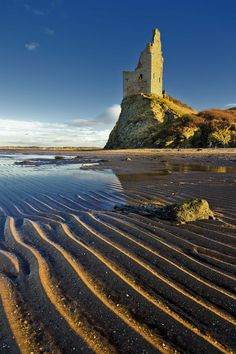 Greenan Castle, Scotland.  Go to www.YourTravelVideos.com or just click on photo for home videos and much more on sites like this.