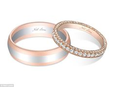 With this ring: Sean Lowe and Catherine Giudici's rings have been revealed with The Bachelor's band featuring rose gold and platinum and his...