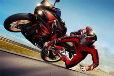 Portugueses criam detector de acidentes para motos - MotoNews - Andar de Moto