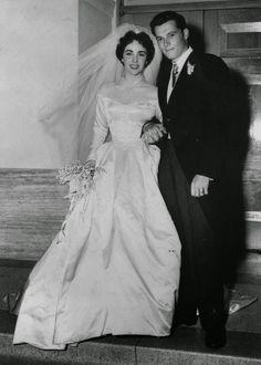 liz taylor wedding