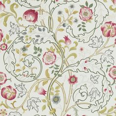 The Original Morris & Co - Arts and crafts, fabrics and wallpaper designs by William Morris & Company | Products | British/UK Fabrics and Wallpapers | Mary Isobel (DMCOMA204) | Morris Volume V