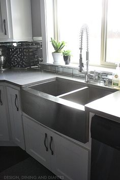 Stainless Steel Farmhouse Sink   Modern   Kitchen Sinks   Los Angeles   By  Lavello Sinks  Hmmm Easier To Keep Clean Than Typical Ceramic Farmhouse U2026