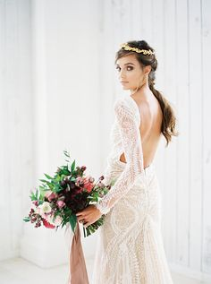 Inbal Dror gown Taylor Lord Photography