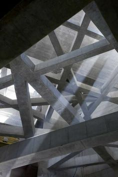 Beautiful way to let light underground. Metro station in Budapest by Spora Architects