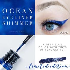 Ocean EyeSense Shimmer. Long lasting waterproof eyeliner. Limited edition eyesense eyeliner