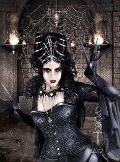 Spider Queen by vampirekingdom.deviantart.com on @DeviantArt