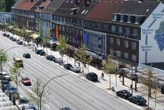 Hamburg/ Wandsbek: Marktplatz