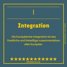 Integration ist für jede Gesellschaft wichtig. In unserem Europa ABC geht es diesmal um dieses Thema. Schaut einfach mal rein http://ift.tt/2HtTKuz #EIZRostock  #Integration #europa #ABC #li #gesellschaft
