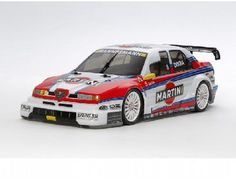 The TamiyaAlfa Romeo 155 V6 TI - TT-02 Martini Model Kit is the latest radio controlled car to feature on the exciting and versatile new TT-02 chassis.