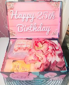 25th Birthday YouAreBeautifulBox. 25 Birthday Girl. 25th | Etsy