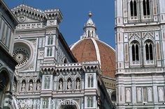Anything in Florence is worth seeing, but the Duomo is particularly beautiful in all its pink, green and white marble
