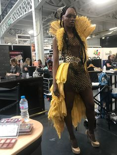 The Queen Bee Demo, as part of Ida Astero Welle's Mothermorphosis series. At IMAT's London 2019 for The Makeup Armoury. Queen Bees, London, Makeup, Style, Fashion, Make Up, Swag, Moda, Stylus