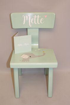 geboortestoeltje stoel met naam kraamkado
