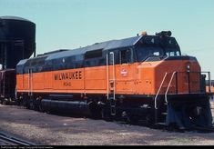RailPictures.Net Photo: MILW 4 Milwaukee Road EMD FP45 at Bensenville, Illinois by David Hawkins