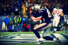 Brandon Lloyd gets a TD in his very first postseason game. Outstanding!
