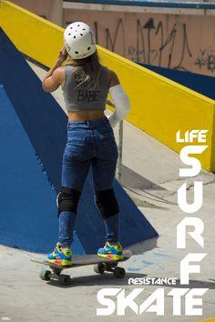 SURF skate RESISTANCE life - fotografia e contexto / delu