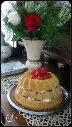 Keskonmangemaman?: Edition spéciale deux ans de Bataille Food , un layer cake gourmand à la confiture et à la chantilly mascarpone