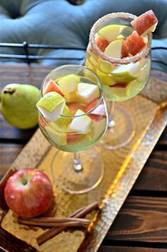 Apple Pie Sangria -