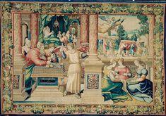 8. Der Engel Rafaël weist die Gaben zurück und gibt sich zu erkennen Medieval Manuscript, Renaissance, Painting, Art, Angel, Art Background, Painting Art, Kunst