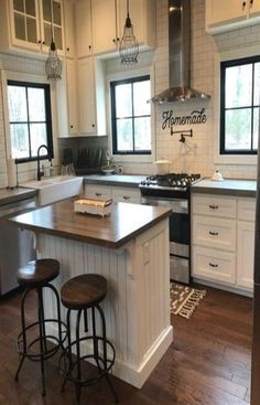 The kitchen that is top-notch white kitchen , modern kitchen , kitchen design some ideas! Home Decor Kitchen, Kitchen Furniture, New Kitchen, Kitchen Ideas, Kitchen Designs, Awesome Kitchen, Beautiful Kitchen, Kitchen Hacks, Kitchen Inspiration