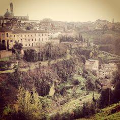 Siena Italy @LaProcedencia Cafe on #Bike