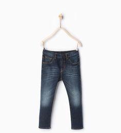 Базовые джинсы скинни-ДЖИНСЫ-МАЛЬЧИКИ | 4-14 лет-ДЕТИ | ZARA Российская Федерация