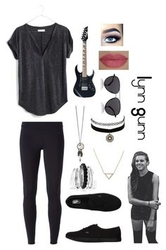 """""""Lynn Gunn Outfit"""" by meganrathbun on Polyvore featuring NIKE, Madewell, Vans, Avenue, Banana Republic, Charlotte Russe, The Row and She's So"""