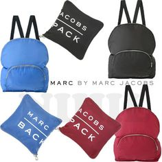 Marc by Marc Jacobs バックパック・リュック 直営店限定★Marc by Marc Jacobs・ナイロンバックパック3色