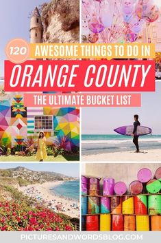 Looking for fun things to do in Orange County, CA? From beaches, hikes, hidden gems, and more, here are all the things you need to add to your Orange County bucket list. Over 130 things to add to your Orange County itinerary! Find out why the OC is one of the best California travel destinations this summer! California Destinations, California Travel, Travel Destinations, Usa Travel Map, International Travel Tips, Best Travel Guides, California National Parks, Future Travel, Orange County